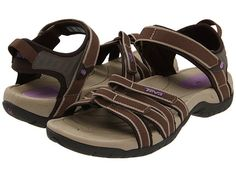 RIVER SANDAL-TEVA From CanX: Although these fit the 'river sandals' requirements for our trips, please note that this shoe's Velcro closures may quickly become clogged with sand and may not close securely. Daily shoe maintenance/cleaning may be needed. Hiking Sandals, Sport Sandals, Comfy Walking Shoes, Free Clothes, Strap Heels, Travel Accessories, New Shoes, Black And Grey, Footwear