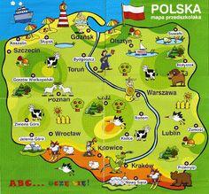 OK-klasa: ORTOGRAFIA Polish Symbols, Learn Polish, Carol Songs, Polish Language, Maps For Kids, Polish Recipes, Polish Food, Family Roots, Thinking Day