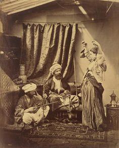 Roger Fenton (British) Pasha and Bayadere 1878