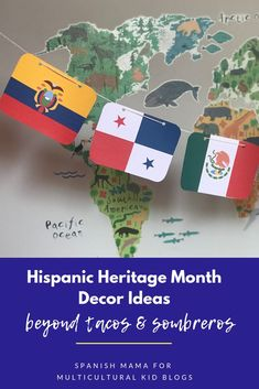 Ideas to help you bring a multi-dimensional environment to your next part, event, or bulletin board set-up on Hispanic Heritage Month Celebrations! Hispanic History Month, Hispanic Culture, Hispanic Heritage Month, Hispanic Art, Diversity Bulletin Board, Bulletin Boards, Teaching Spanish, Spanish Classroom, Spanish Heritage