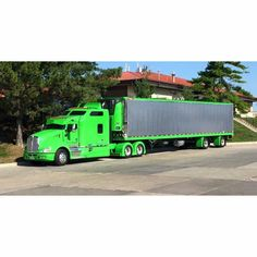 Kenworth custom T660 with matchin reefer