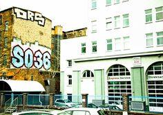 SO36 - Club Kreuzberg (high) - #Building, #Gebäude, #Graffiti, #Schild, #sign