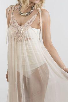 SORBET BARDOT MAXI BEACH DRESS