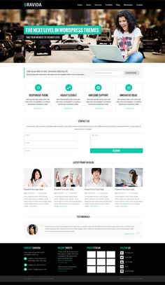 SKT themes offers creative and modern corporate WordPress theme. Which is ideal for all type of businesses.