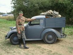 Shortened 1947 82E Kdf chassis...called a type 100