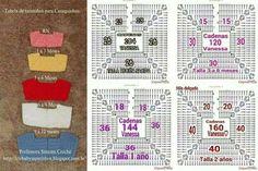 Pattern graph of basic crochet yoke for dress. Col Crochet, Gilet Crochet, Crochet Fabric, Crochet Girls, Crochet Baby Clothes, Crochet Diagram, Crochet Blouse, Crochet Chart, Crochet For Kids