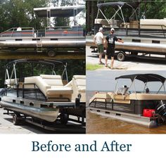 Navy Blue Smoke Gray Pontoon Boat Graphics And Decals Pontoon - Decals for boat seats