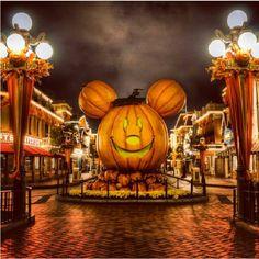 Halloween time.