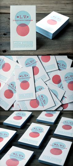 Letterpress Business Cards  by PrintGrain (via Creattica)