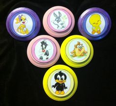 Looney Tunes Wall Plaques Nursery Baby Bugs Baby Tweety Baby Sylvestor Baby Taz | eBay