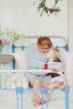 Reading to a child is a sure investment in a better life