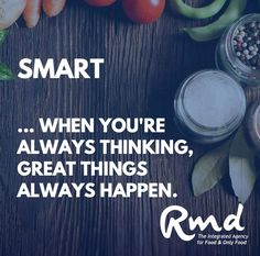 We're fine tuning our #brand at Team RMD (cause it's that time of year), but our values will never change. SMART is a key part of our value statement. We'd love to hear from you if you get the #Food business and are a smart #marketer. Let's start a conversation 😍💪 ...#rmdadvertising #foodmarketingagency #agencylife #clientlove #foodlove #creative #smart #sharp #problemsolving #passionate #branding #marketingtips #marketingstrategy #advertising #strategy #hiring #nowhiring Problem Solving, Conversation, Advertising, Branding, Change, Key, Let It Be, Shit Happens, Marketing