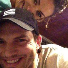 Mila Kunis e Ashton