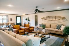 The Peach House | Season 3 | Fixer Upper | Magnolia Market | Living Room | Chip & Joanna Gaines | Waco, TX