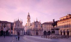 Piazza San Carlo   Turin (Photo by: John Turner)