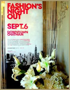 Fashion's Night Out Chatham Sept. Fashion Night, Night Out
