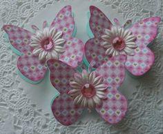 Abbellimenti farfalla primavera/Pasqua di sarasscrappin su Etsy
