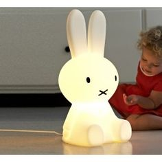 Lampe Lapin MIFFY, Taille S, H 50 cm Mr Maria