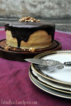 Get me some Chocolate Peanutbutter Cake | Eat and Feast