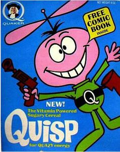 Quisp cereal prizes history
