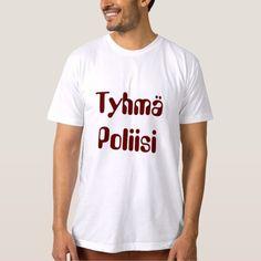 tyhmä  poliisi - stupid police in Finnish