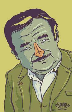 """José """"Pepe"""" Mujica Ilustración Vectorial By: Crab"""