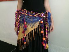 Danza Tribal, Tribal Belly Dance, Belly Dance Bra, Belly Dance Costumes, Tribal Fusion, Tribal Costume, Tribal Looks, Altered Couture, Gypsy Style