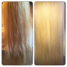 Before & After Brazilinian Keratin
