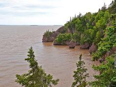 https://flic.kr/p/L7M8Fp | 20150620k | The Bay of Fundy & Hopewell Rocks at Hide Tide, New Brunswick, Canada
