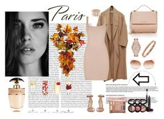 """""""París"""" by rowanadow ❤ liked on Polyvore featuring Oris, Gianvito Rossi, Givenchy, Michael Kors, Kate Spade, Laura Geller, Urban Decay, Prada, LSA International and Improvements"""