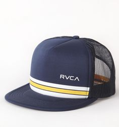 Rvca Barlow Summer Trucker Hat