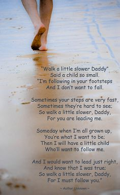 Walk a Little Slower Daddy by Katami