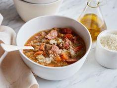 Lentil Sausage Soup Recipe   Ina Garten   Food Network
