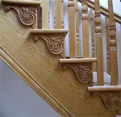 Hand Carved Spiral Staircase   hand carved staircases   hand carved spindles hand carved finials hand ...