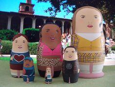 Clueless Matryoshka Dolls (190.00 USD) by bobobabushka