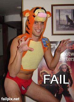 disfraces de halloween fail