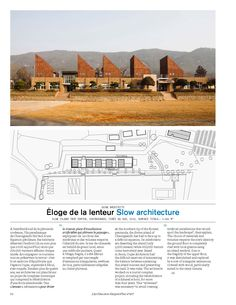 Oujae Architects  Slow Island Trip Center, Cheongsando, Corée du Sud, 2013.