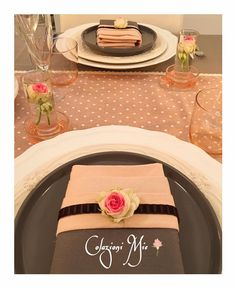 @colazioni_mie Roses and Candles Pinks and Browns