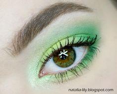natalia-lily: Beauty Blog: Makijaż: Soczysta zieleń oczu i delikatność ust (krok po kroku) - coś delikatnego, ale z kolorem