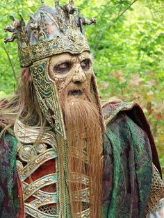 Dead King, Lord of The Rings cosplay. It's not creepy at all. It's a good cosplay just dont name like this. Belle Cosplay, Epic Cosplay, Amazing Cosplay, Hobbit Cosplay, Viking Cosplay, Marvel Cosplay, Cosplay Diy, Cool Costumes, Cosplay Costumes