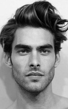 Jon Kortajarena has worked for almost every designer out!! Is edgy amazing bone structure is what make me love him and look up 2 his work!!! #GREATNESS