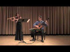 """Kaori Fujii & Eric Cecil: Spanish Dance No. 5 """"Andaluza"""" by E. Granados"""