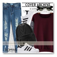 """""""Romwe !!"""" by dianagrigoryan ❤ liked on Polyvore"""