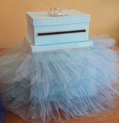 Princess Cinderella inspired three tier card box by JayLeeDesign