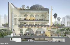 New design for Punggol mosque unveiled following design review