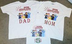Legoland Family Vacation T Shirts Family Birthday Shirts, Family Birthdays, Disney Vacation Shirts, Disney Vacations, Legoland, Lady V, Marketing And Advertising, Travel Guide, Etsy Shop