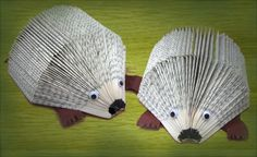 Hedgehog Book by: Elli, Great SRP idea and you can add on to the Hedgehogs by dressing them up as literary characters or superheros.