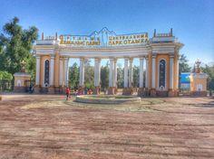 Park House, Almaty / Kazakhstan On Summer.