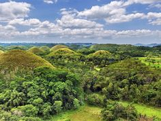 A geological formation that's found in the Philippines' Bohol province, the Chocolate Hills are oddly shaped hills. There are at least 1,300 of them, but any other information on the formation remains somewhat of a mystery.