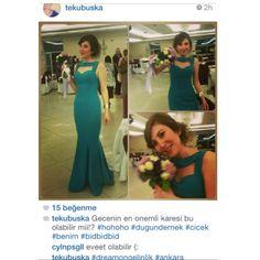 http://instagram.com/tekubuska  DreamON BitterSweet koleksiyonlarından Chivas modeli Buket Aksu'ya çok yakıştı. #dreamon #abiye #bittersweet #ankara #buketaksu  www.dreamon.com.tr